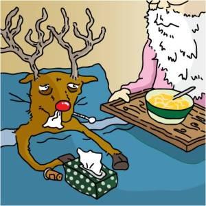 Rudolph sick