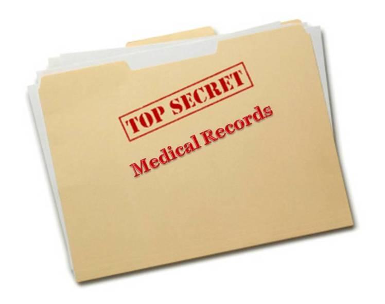 Top Secret Medical records